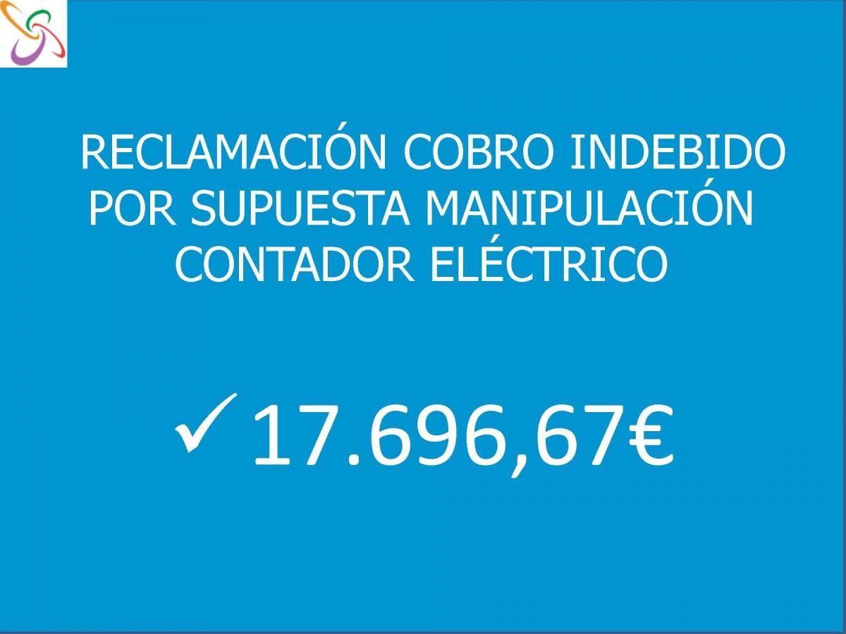 Reclamacion Supuesta Manipulacion Contador Carpinteria Metalica