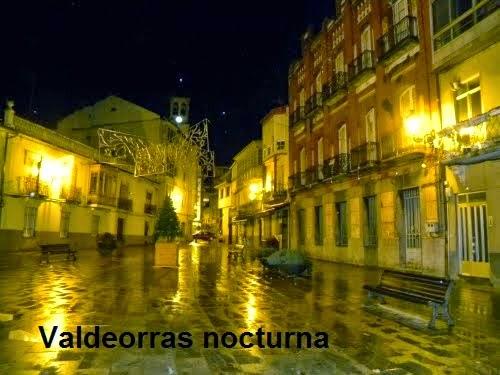 Barco Valdeorras de noche