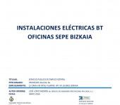 Informe previo sepe Bilbao